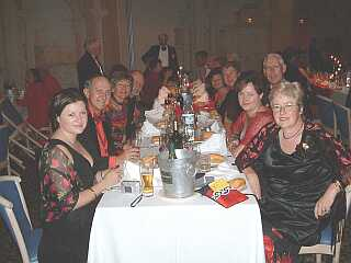 Takapuna Club's table