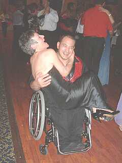 Wheelchair frolics